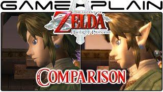 Zelda: Twilight Princess HD Head-to-Head Gameplay Comparison (Wii U vs. Wii, GameCube)