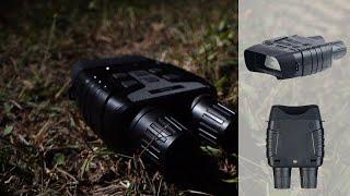 Jumelles de vision nocturne portée 700 m et fonction enregistrement DN-800 Zavarius [PEARLTV.FR]