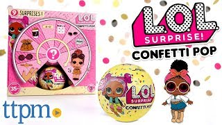 L.O.L. Surprise! Series 3 Confetti Pop Doll Balls Unboxing & Review | MGA Entertainment Toys