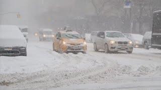 Nova York para por causa de forte nevasca