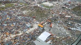 """شاهد: صور جوية للدمار الذي خلفه """"دوريان"""" في الباهاماس"""