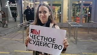 В полицию за крики судьям Скандал на Кубке России по фигурному катанию