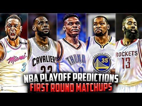 2018 NBA Playoff Bracket/Predictions