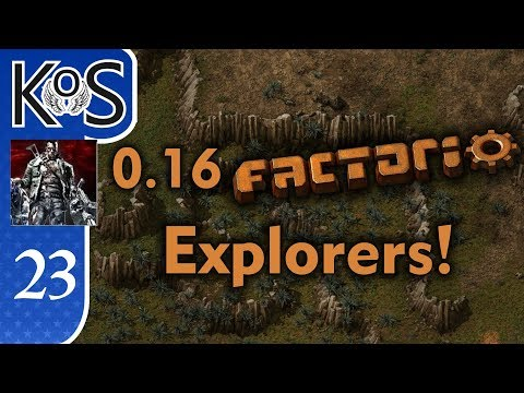 0.16 Factorio Explorers! Ep 23: SCENIC ROUTE - Coop with Xterminator, MP Gameplay
