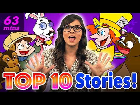 Kids Stories with Ms Booksy  Compilation  Story Time with Ms Booksy at Cool School