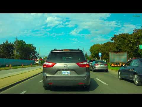 [4K] Driving To Paris Brant Ontario From Brampton Ontario Canada