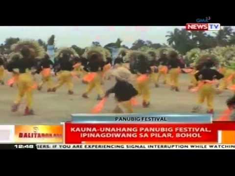 BT: Kauna-unahang Panubig Festival, ipinagdiwang ng Pilar, Bohol