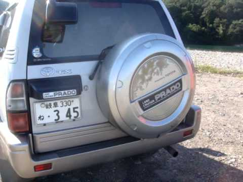TOYOTA LAND CRUISER PRADO TX 4WD 8seats - carsfortheworld.com VIDEO
