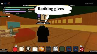 Ranking up to B rank 5   Beyond [Beta 102] - Roblox