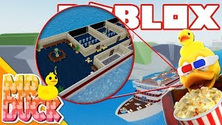 ADDING A THEATER TO THE CRUISE SHIP! - Roblox Cruise Ship Tycoon