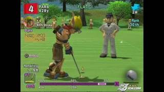 Hot Shots Golf Fore! PlayStation 2 Gameplay - Jak's par