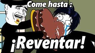 - Historias con memes breves 57 CREA TU MEME 46 Come hasta reventar