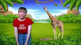 Детская песня   У жирафа пятна   Утренняя зарядка для детей
