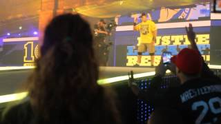 john cena the rock wrestlemania entrance 29