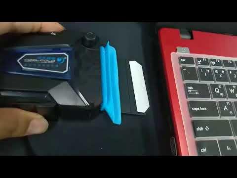 【新版-迷你版】低噪音 送三種尺寸導風套 有測試圖 抽風式散熱器 筆電散熱器 11~17吋 可調風速 散熱座 散熱風扇