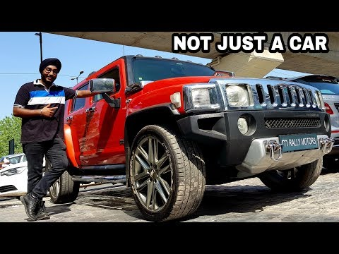Its A TANK - Hummer H3 || Rarest Hummer Of India ||