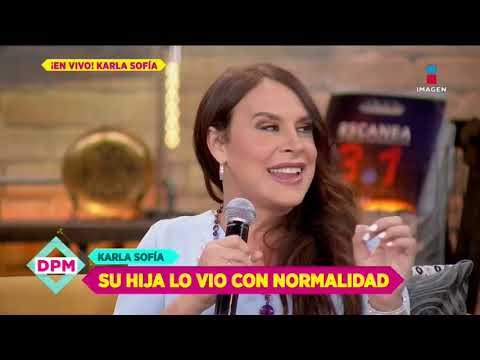 Así fue como Karla Sofía, antes Carlos Gascón, le explicó su cambio a su hija   De Primera Mano