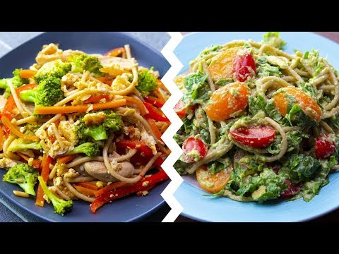 6 Healthy Pasta Recipes For Weight Loss