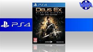 Deus EX Mankind Divided Gameplay PS4 ( 2016 )