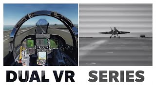 DCS: Dual VR (Rift + Vive) | F/A-18 Strike-Fighter Simulator