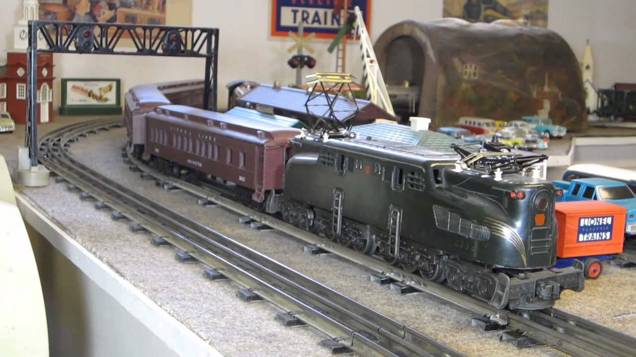 lionel 2332 with working horn three madison cars well loved  [ 1280 x 720 Pixel ]