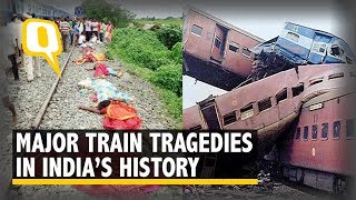 Video Here's a Look at the Worst Train Accidents in India's History | The Quint download MP3, 3GP, MP4, WEBM, AVI, FLV Oktober 2018