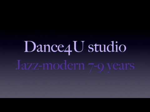 Jazz-modern 7-9 years regular traning oct 2016 D4U studio