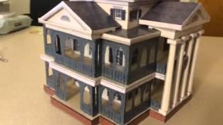 Haunted Mansion papercraft model