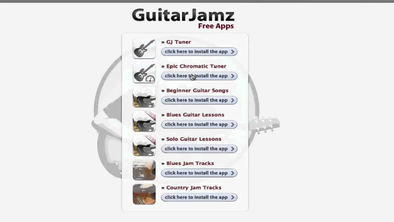 free iphone ipad guitar apps chromatic tuner blues jamtracks beginner solo country lessons youtube. Black Bedroom Furniture Sets. Home Design Ideas