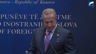 Ministri i Jashtëm, Behgjet Pacolli, ka pritur në takim homologun e tij të Turqisë, Mevlüt Çavuşoğlu