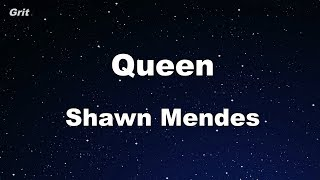Queen - Shawn Mendes Karaoke 【No Guide Melody】 Instrumental