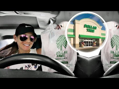SHOP WITH ME & HAUL | DOLLAR TREE