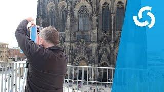 Kölner Dom wird eingescannt | Hochschule Fresenius