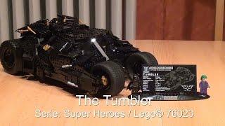 El Tumbler de Lego: DC Comics Super Heroes (Set 76023)