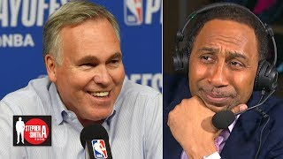Mike D'Antoni has some nerve thinking he deserves a contract extension | Stephen A. Smith Show