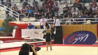Agathe Deshayes (1998) - DN1 - Saint Lo - Championnat de France 2015