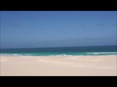 Praia de Chaves Boa vista ,cape verde timelapse