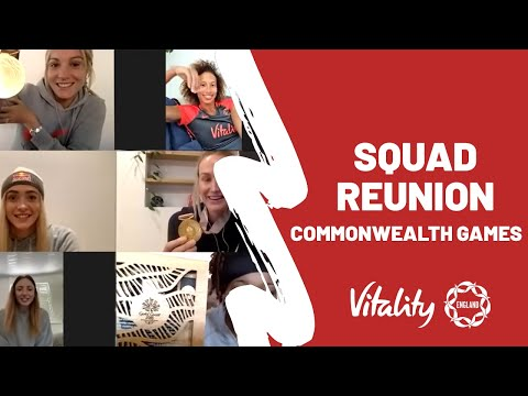 The Vitality Roses Commonwealth Games Reunion