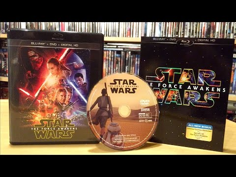 Star Wars: The Force Awakens Blu-ray Unboxing and Review