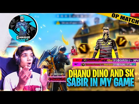 Dhanu Dino And SK Sabir Boss  in My Game 😱 Gone Wrong 🤬 in Telugu    Dhanush FF Gamer  