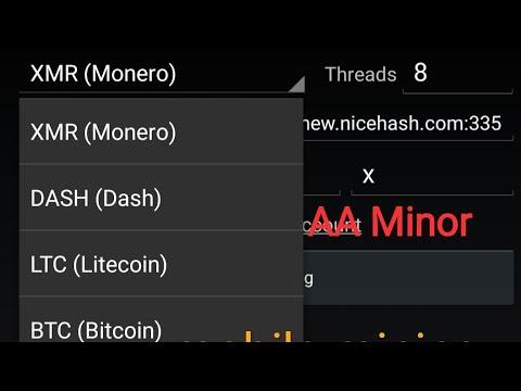 How To AA Miner Mobile Mining BTC DOG XML Very Easy :মোবাইলের মাধ্যমে মাইনিং করেন খুব সহজেই