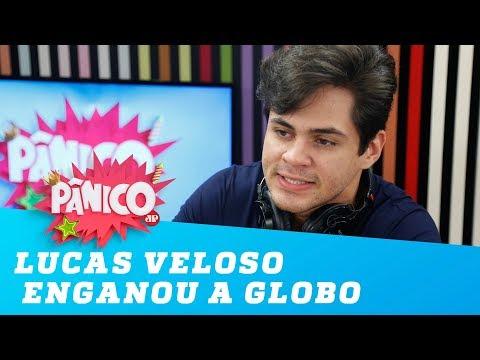 Lucas Veloso enganou a Globo para entrar em novela!
