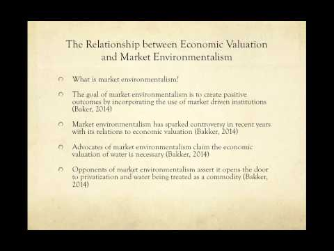 The Economics of Water video