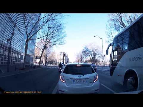 Driving In Paris - 25/01/2016
