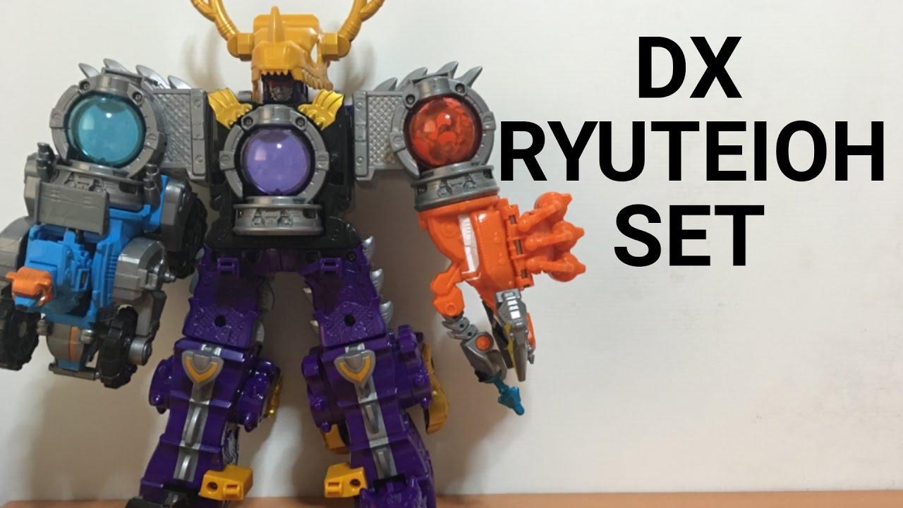Bandai Uchu Sentai Kyuranger Kyutama Gattai 02 10 11 DX Ryuteioh Megazord