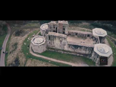 Flying over a historic building... Stafford castle with the DJI Mavic Pro