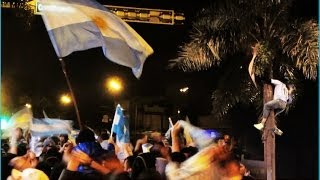 This is how ARGENTINA celebrates the FIFA World Cup !