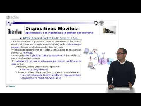 Sistemas de comunicaciones móviles: GSM/GPRS/UMTS/LTE  | MOOC Dispositivos Móviles (24-35) | UPV