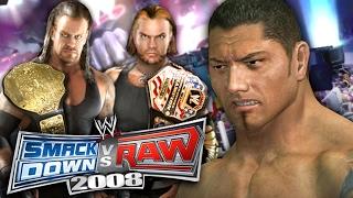 "WWE SmackDown vs Raw 2008 - GM MODE - ""SHOCKING HEEL TURN!!"" (Ep 3)"