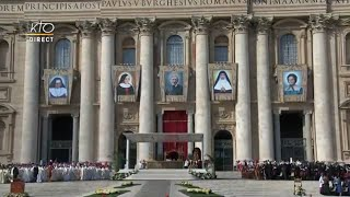 Messe et canonisations